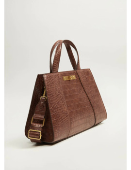 "<Font Style=""Vertical Align: Inherit;""><Font Style=""Vertical Align: Inherit;"">Handbag Crocodile </Font></Font> by Mango"