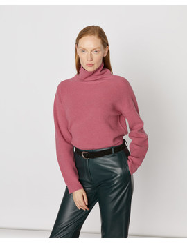Rib Turtle Neck Jumper by Jigsaw