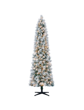 7ft. Pre Lit Artificial Christmas Tree, Clear Lights By Ashland® by Ashland