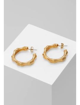 Bamboo Hoop Earring   Earrings by Whistles