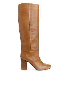 Knee High Leather Boots by Arket