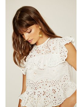 Brisbane Eyelet Top by Lovely Pepa Collection