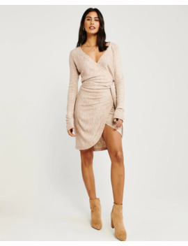 Wrap Sweater Dress by Abercrombie & Fitch