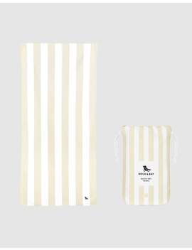 Large Sand Free Beach Towel by Dock & Bay
