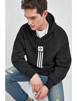 Adidas Originals Black Pillar Overhead Hoody by Next