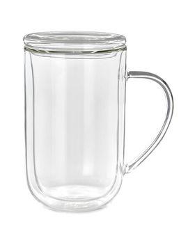 Double Walled Glass Nordic Mug by Davi Ds Tea