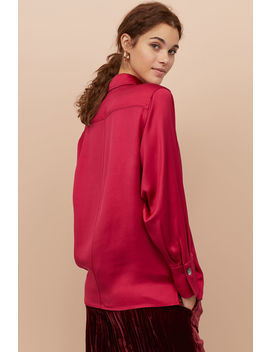 Skjorta I Silkesmix by H&M