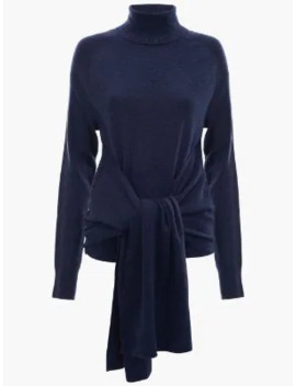 Roll Neck Jumper With Front Ties by Jw Anderson