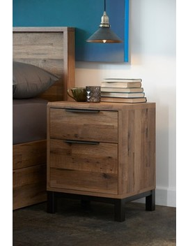 Bronx 2 Drawer Bedside Table by Next