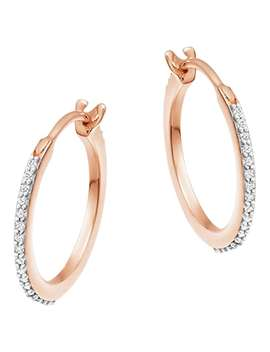 Missoma Cubic Zirconia Small Hoop Earrings, Gold by Missoma