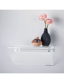 Acrylic Wall Shelf by West Elm