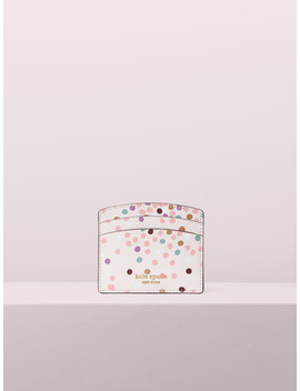 Sylvia Disco Dots Cardholder by Kate Spade