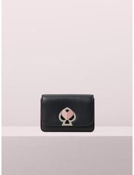 Nicola Twistlock Flap Cardholder by Kate Spade