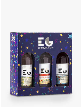 Edinburgh Gin Christmas Liqueurs, 3 X 20cl by Edinburgh Gin