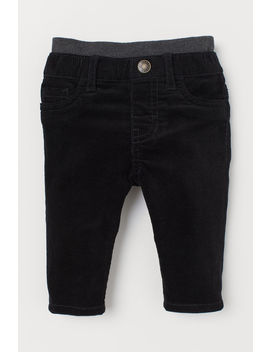 Pull On Corduroy Trousers by H&M