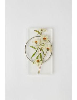 Broche Fleur Blanc by Acne Studios