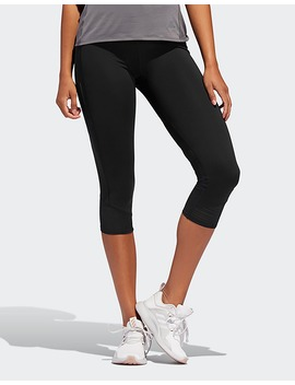 Adidas Performance How We Do 3/4 Leggings by Jd Sports