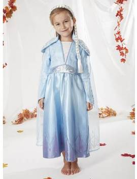 Disney Frozen 2 Elsa Blue Costume   2 3 Yearstuc135853342 by Argos