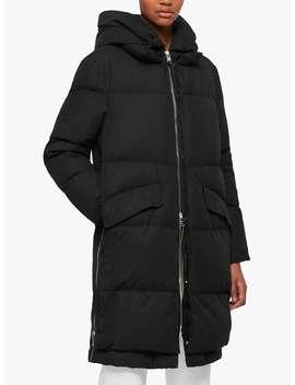 All Saints Ester Parka Quilted Coat, Black by Allsaints
