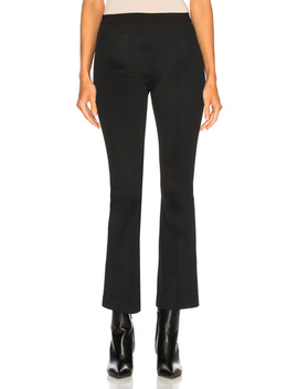 Cropped Flare Rib Legging by Helmut Lang