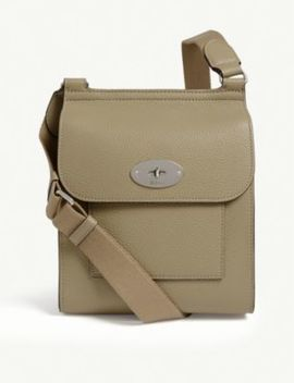 Antony Leather Small Messenger Bag by Mulberry