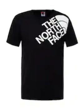 Shoulder Logo Tee   T Shirts Med Print by The North Face