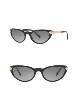 V Rock 54mm Cat Eye Sunglasses by Versace