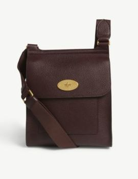 Antony Small Grained Leather Messenger Bag by Mulberry