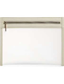 Large Clarity Clear Clutch by Truffle