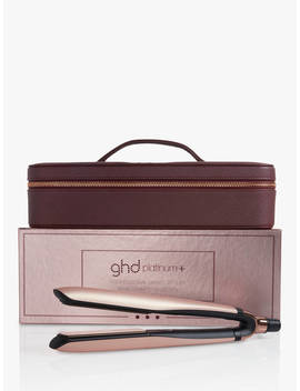 Ghd Platinum+ Straighteners Limited Edition Gift Set, Rose Gold by Ghd