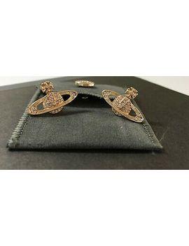 <Span><Span>Vivienne Westwood Earrings Classic Mini Bas Relief Earrings   Gold</Span></Span> by Ebay Seller