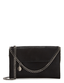 Falabella Tiny Black Cross Body Bag by Stella Mc Cartney