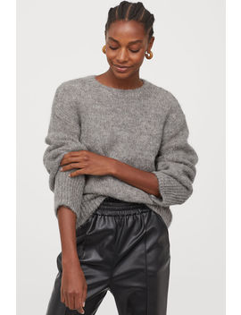 Knitted Sweater In Wool Blend by H&M