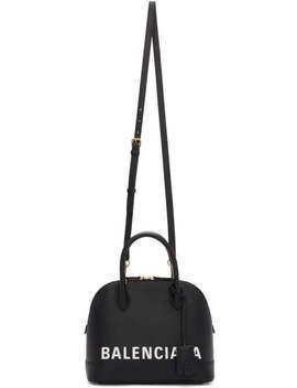 Black Small Ville Bag by Balenciaga