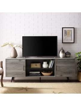Carson Carrington Esbo 70 Inch Mid Century Tv Console   70 X 16 X 24h   Slate Grey by Carson Carrington