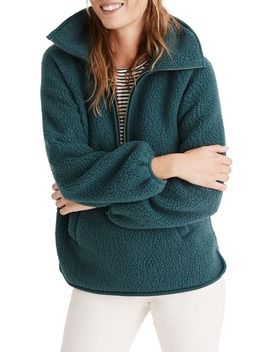 Recycled Polartec® Fleece Pullover Jacket by Madewell