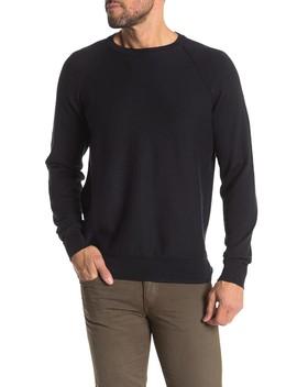 Texture Crew Neck Sweater by J. Crew