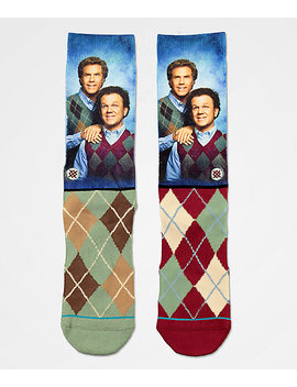 Stance X Step Brothers Argyle Crew Socks by Stance