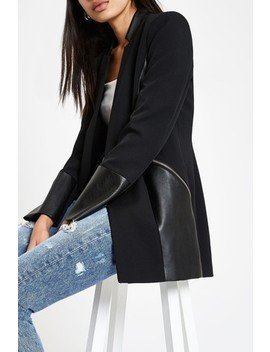 River Island Black Block Chung Jacket by Next