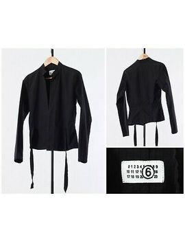<Span><Span>Women's Maison Martin Margiela Mmm Blazer Shirt Jacket Black Size 8 12 40 M</Span></Span> by Ebay Seller