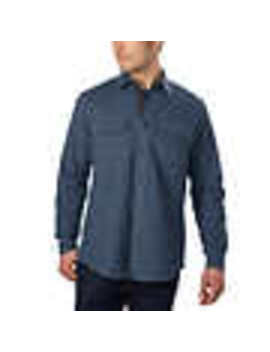 Grizzly Mountain Men's Chamois Flannel Shirt by Grizzly Mountain