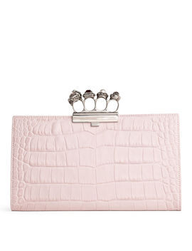 Jewelled Four Ring Clutch by Alexander Mc Queen