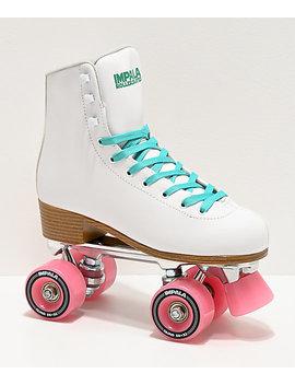 Impala White Roller Skates by Impala Rollerskates