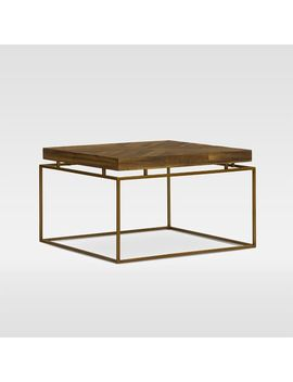 Alexa Reclaimed Wood Bunching Table   Honey by West Elm