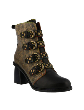 L'artiste By Spring Step Leather Boots   Wonderland by Spring Step