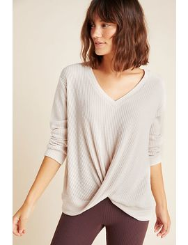 Rima Twist Front Hacci Top by Theo & Spence