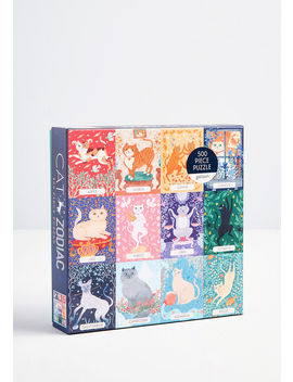 Cat Zodiac Puzzle by Chronicle Books