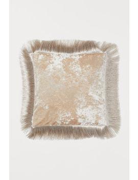 Декоративна калъфка с ресни by H&M