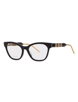 Black Wayfarer Style Optical Glasses by Gucci