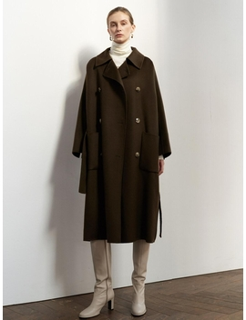 Ntw Oversized Double Hand Made Coat 3color by Mohan